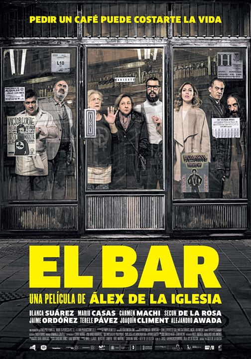 El Bar : Cartel