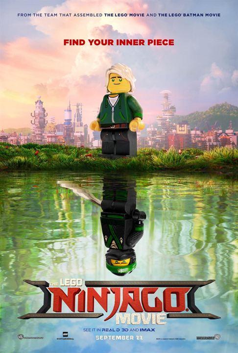poster de lego ninjago la pelicula