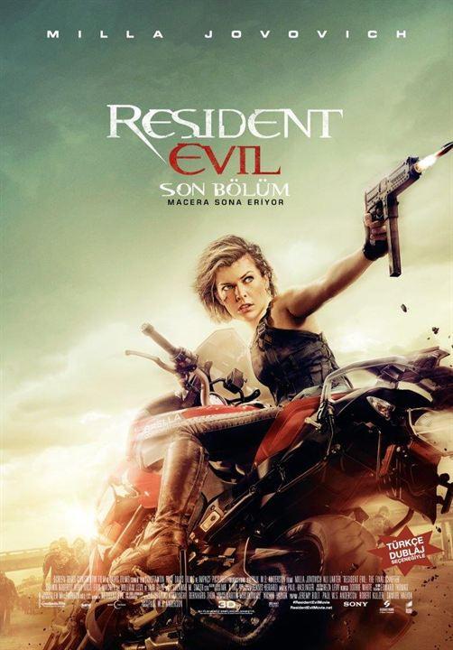 Resident Evil: El capítulo final : Cartel