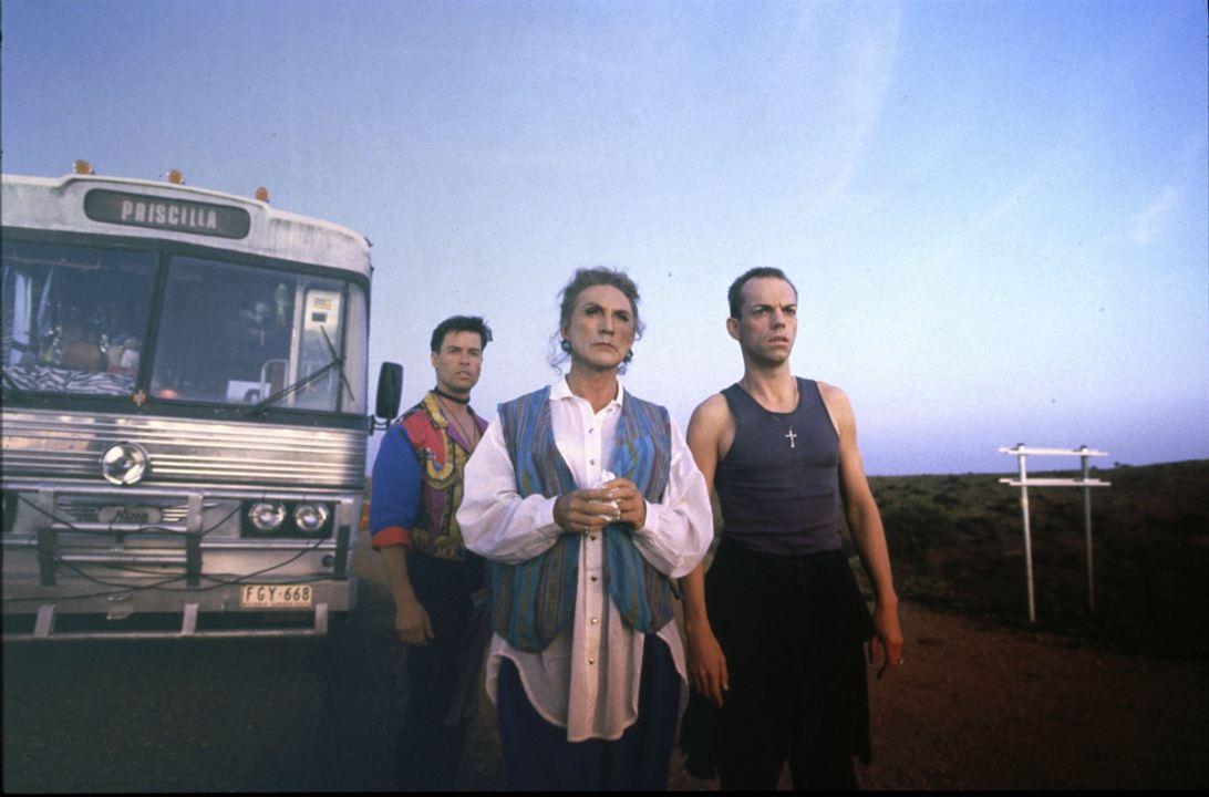 Las Aventuras de Priscilla, Reina del desierto : Foto Guy Pearce, Hugo Weaving, Terence Stamp