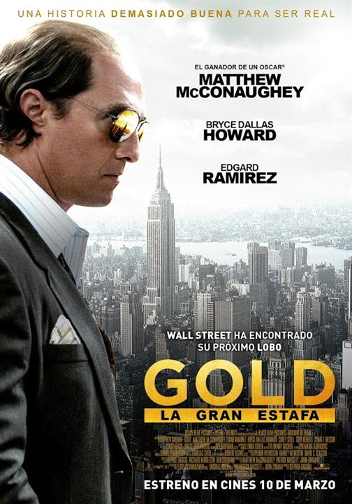 Gold (La gran estafa) : Cartel