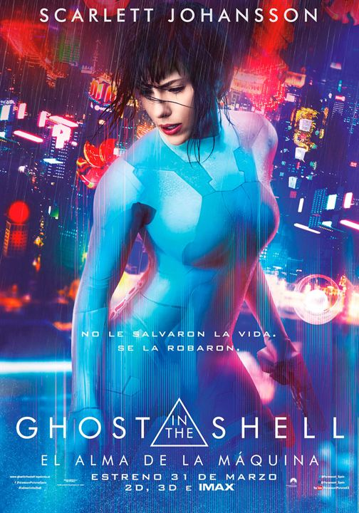 Ghost in the Shell: El alma de la máquina : Cartel