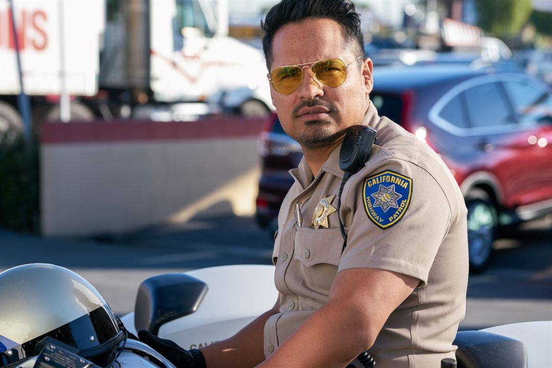 CHiPs, loca patrulla motorizada : Foto Michael Peña