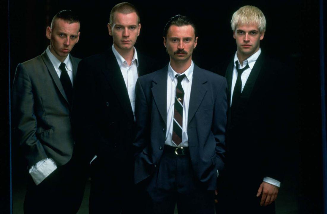 Trainspotting : Foto Ewan McGregor, Ewen Bremner, Jonny Lee Miller, Robert Carlyle