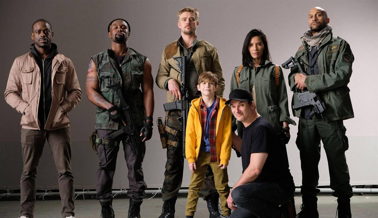 Predator : Couverture magazine Boyd Holbrook, Jacob Tremblay, Keegan-Michael Key, Olivia Munn, Shane Black