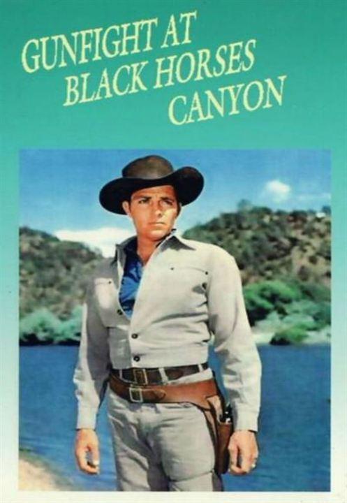 Duelo en el cañón : Cartel