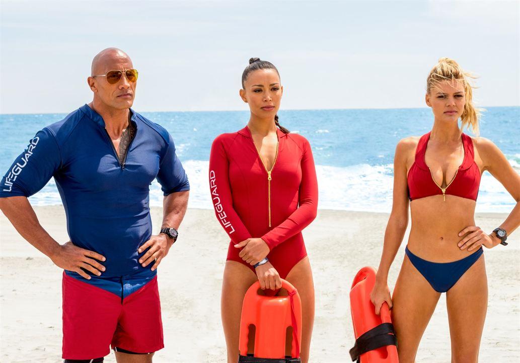 Baywatch: Los vigilantes de la playa : Foto Dwayne Johnson, Ilfenesh Hadera, Kelly Rohrbach