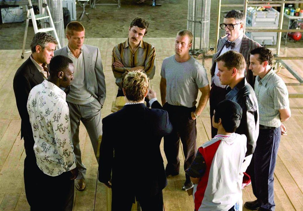 Ocean's Twelve : Foto Brad Pitt, Casey Affleck, Don Cheadle, Elliott Gould, George Clooney
