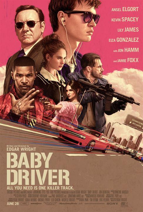Resultado de imagen de baby driver cartel