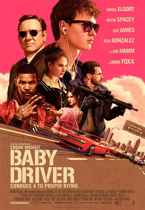 Baby Driver : Cartel