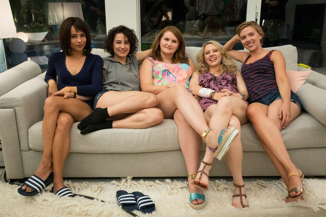 Una noche fuera de control : Foto Ilana Glazer, Jillian Bell, Kate McKinnon, Scarlett Johansson, Zoë Kravitz