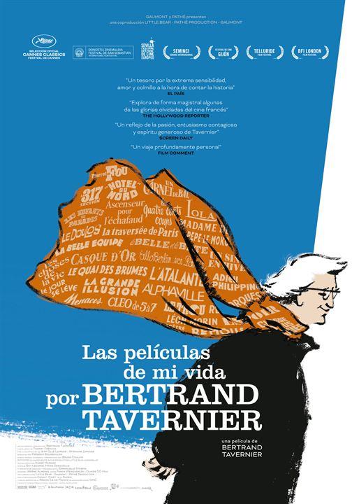 Las películas de mi vida, por Bertrand Tavernier : Cartel