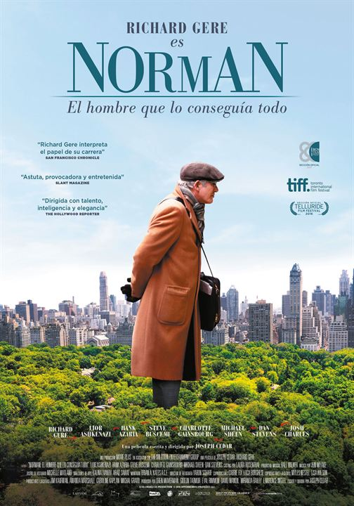 Norman, el hombre que lo conseguía todo : Cartel