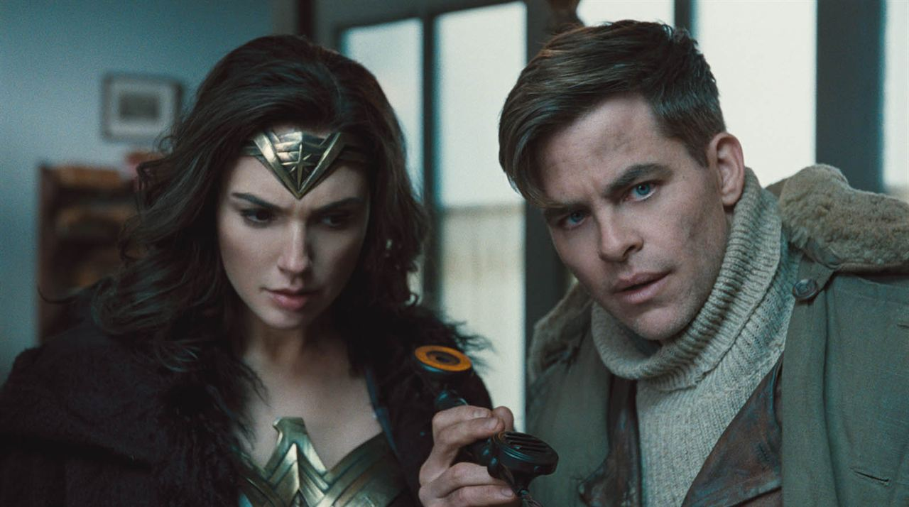 Wonder Woman : Foto Chris Pine, Gal Gadot
