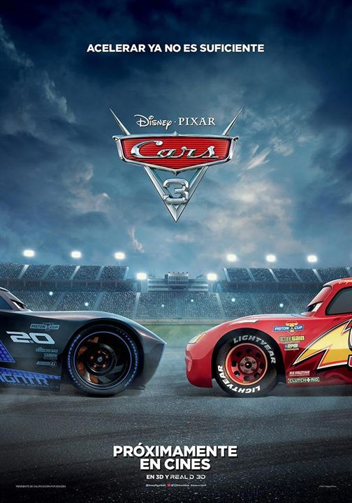 Cars 3 : Cartel