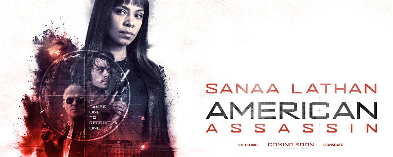 American Assassin : Couverture magazine Sanaa Lathan