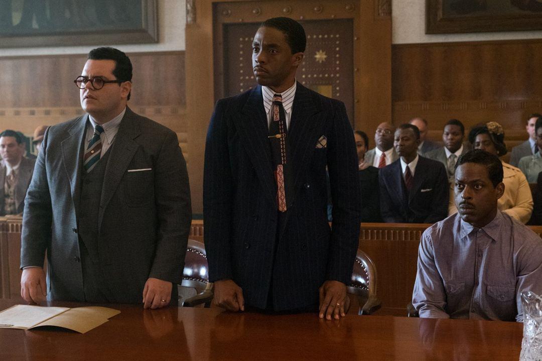Marshall : Foto Chadwick Boseman, Josh Gad, Sterling K. Brown