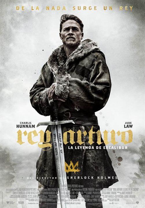 Rey Arturo: La leyenda de Excalibur : Cartel