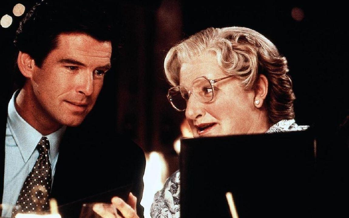 Sra. Doubtfire, Papá de por vida : Foto Pierce Brosnan, Robin Williams