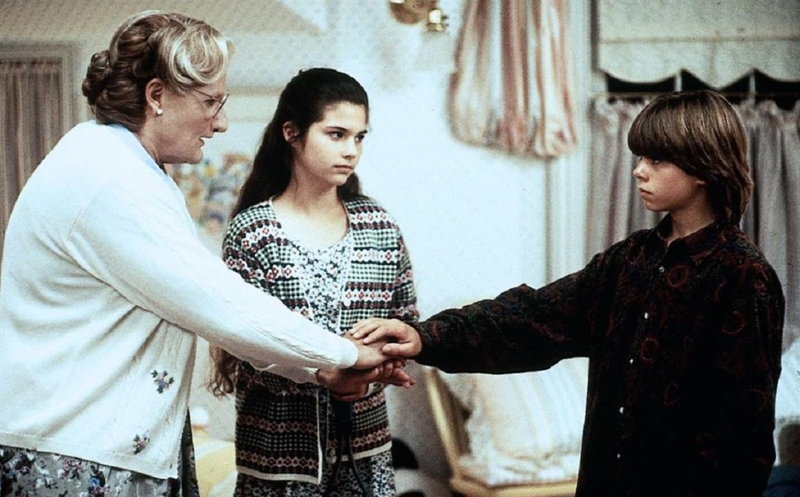 Sra. Doubtfire, Papá de por vida : Foto Lisa Jakub, Matthew Lawrence, Robin Williams