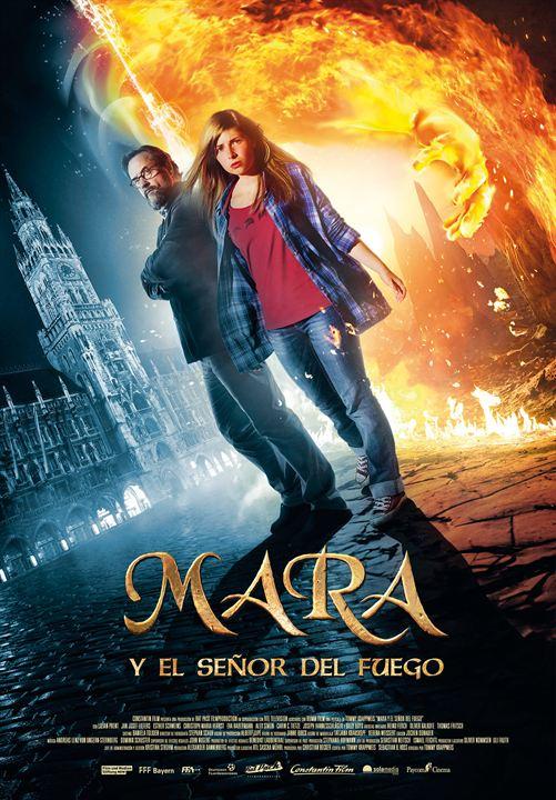 Mara y el señor del fuego : Cartel
