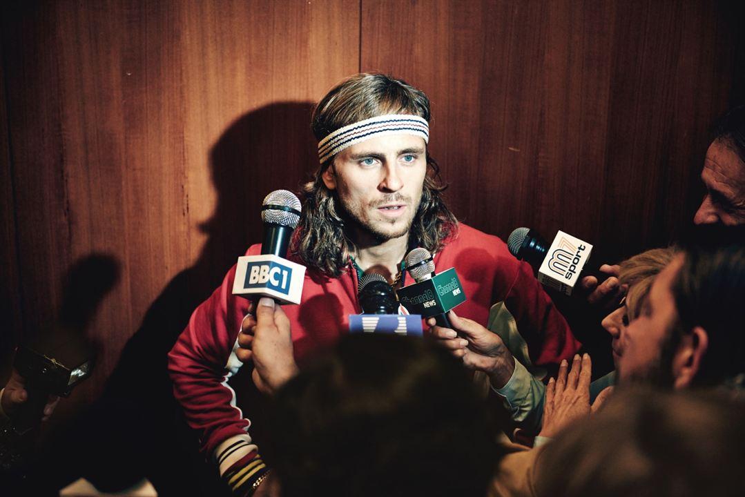 Borg McEnroe. La película : Foto Sverrir Gudnason