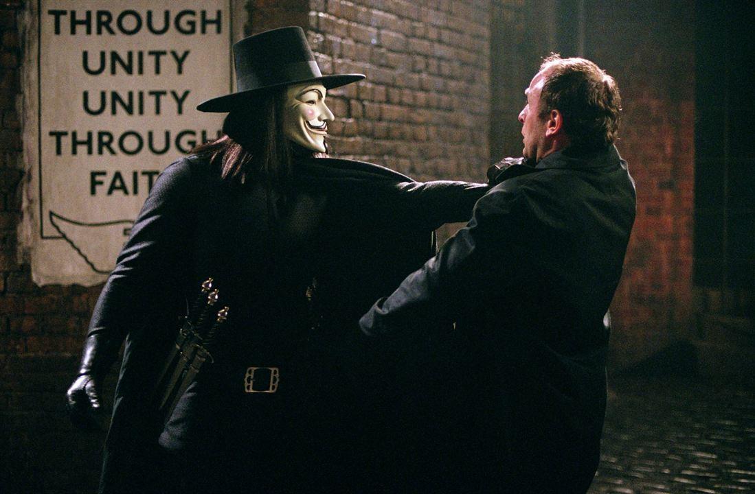 V de Vendetta : Foto Hugo Weaving