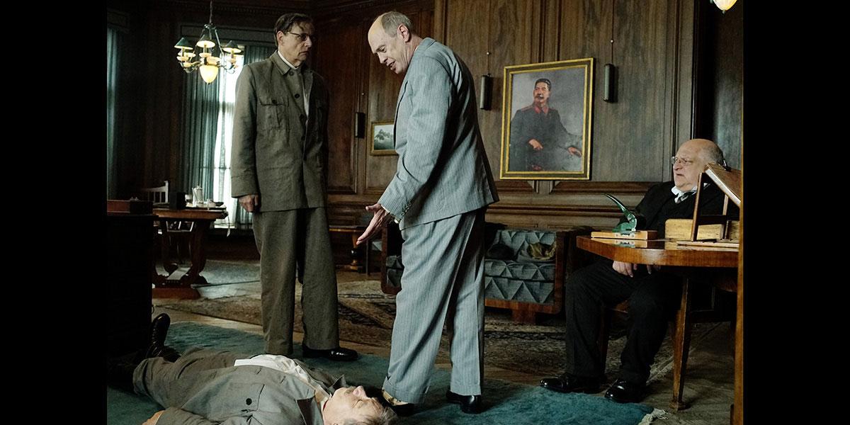 La muerte de Stalin : Foto Jeffrey Tambor, Simon Russell Beale, Steve Buscemi