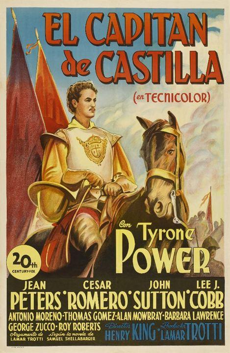 El Capitán de Castilla : Cartel