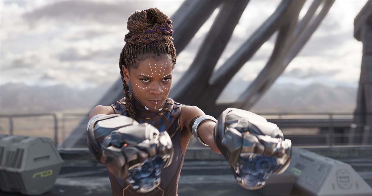 Black Panther : Foto Letitia Wright