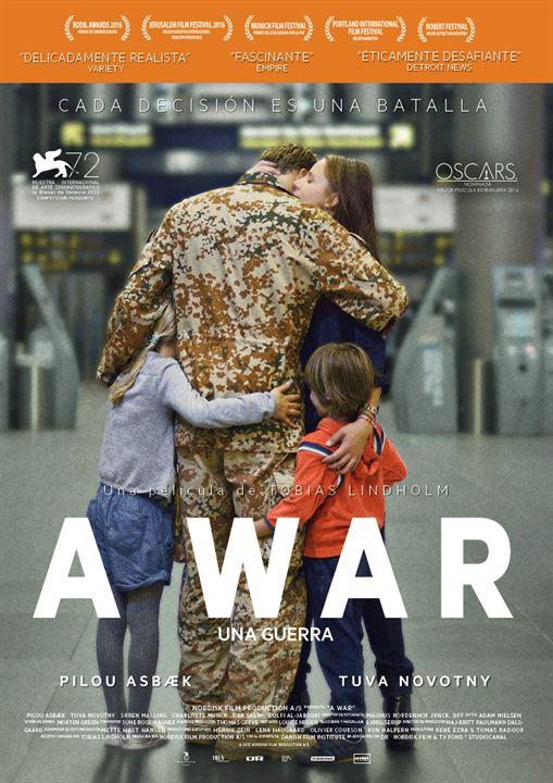 A War (Una guerra) : Cartel