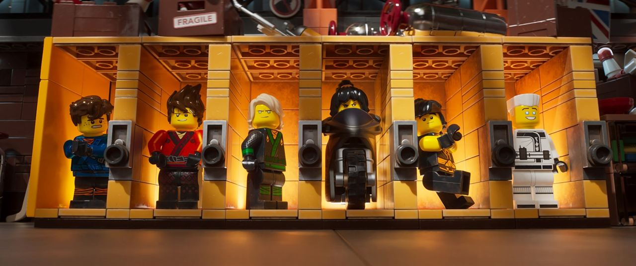La Lego Ninjago película : Foto