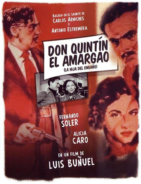 Don Quintín el amargao : Cartel