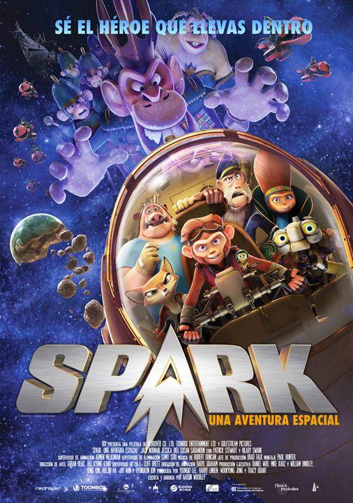 Spark, una aventura espacial : Cartel