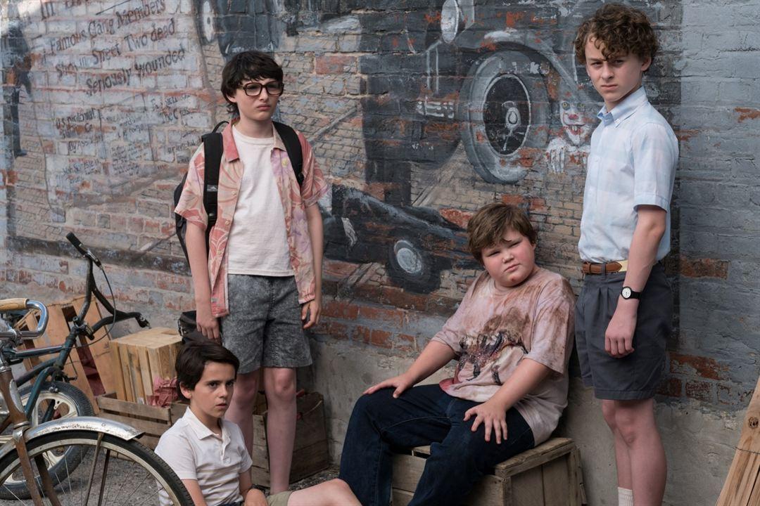 It : Foto Finn Wolfhard, Jack Dylan Grazer, Jeremy Ray Taylor, Wyatt Oleff