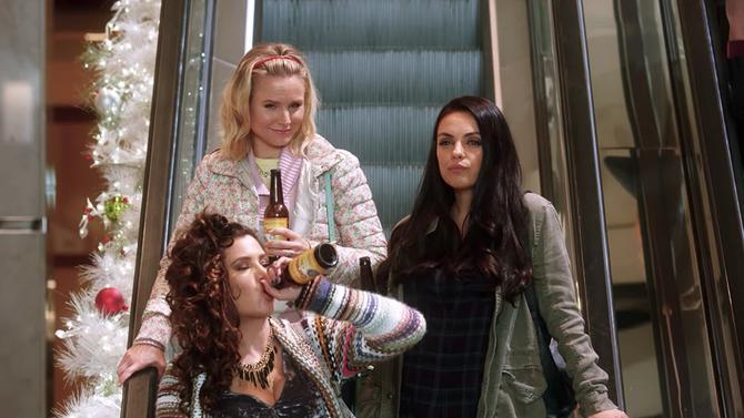 El gran desmadre (Malas madres 2) : Foto Kathryn Hahn, Kristen Bell, Mila Kunis