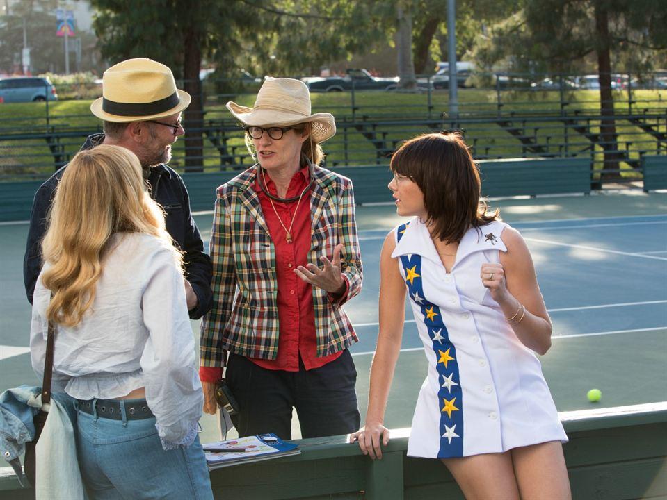 La batalla de los sexos : Foto Emma Stone, Jonathan Dayton, Valerie Faris