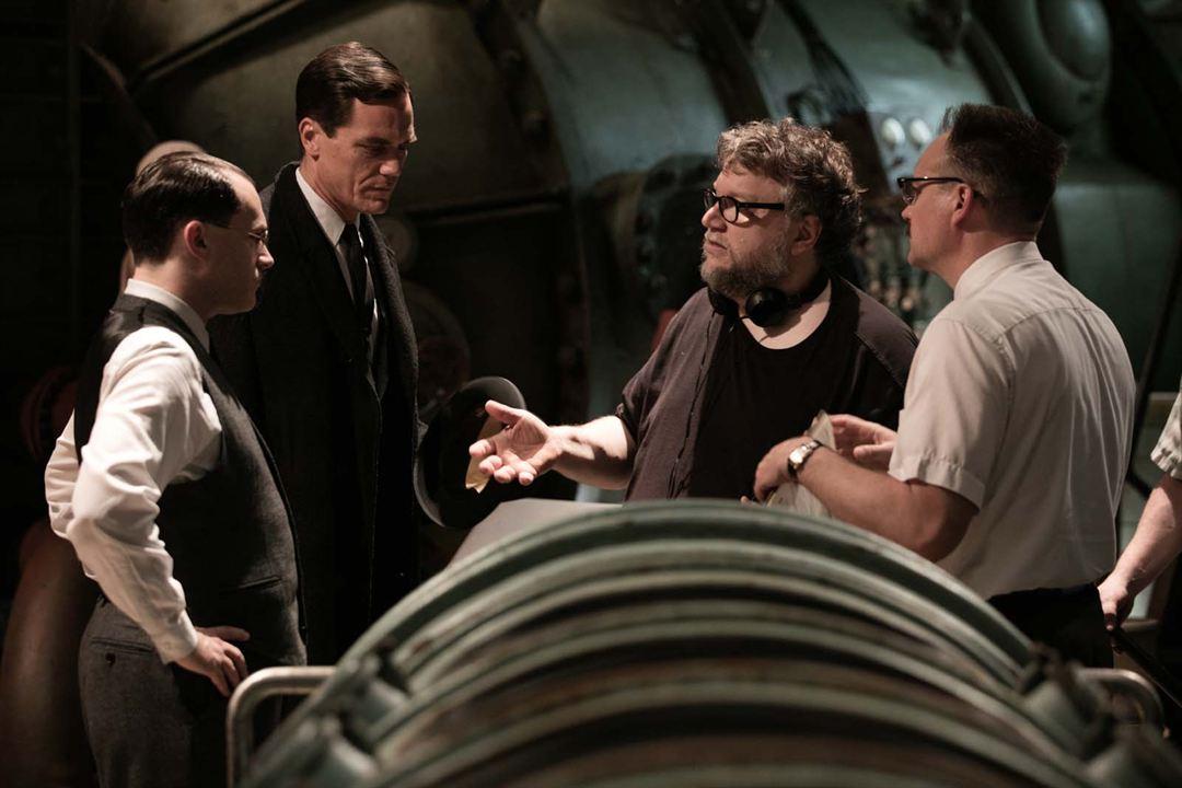 La forma del agua : Foto Guillermo del Toro, Michael Shannon