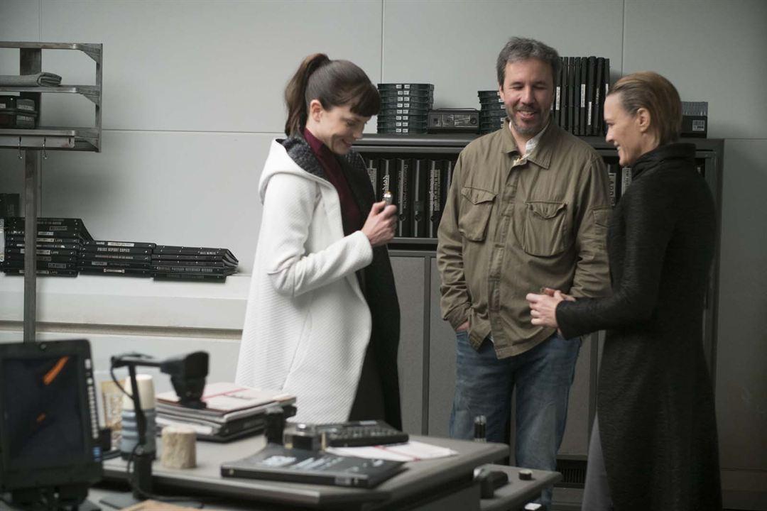 Blade Runner 2049 : Foto Denis Villeneuve, Robin Wright, Sylvia Hoeks