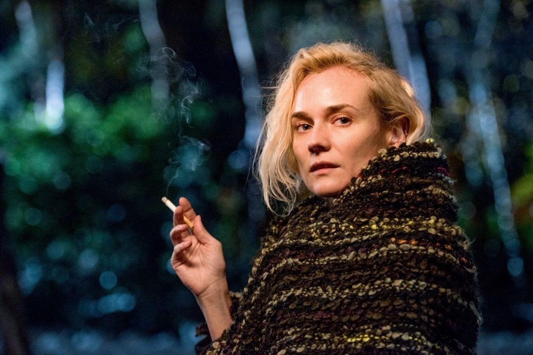En la sombra : Foto Diane Kruger