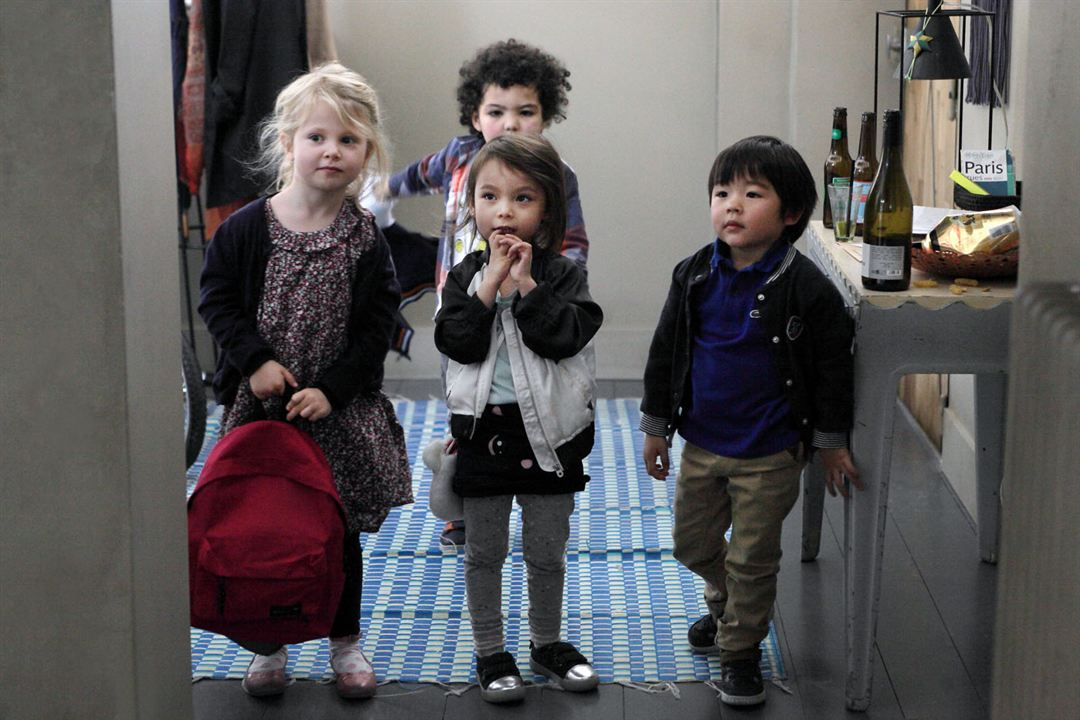 Daddy Cool : Foto Abel Mansouri Asselain, Juliette Pivolot, Maxence Chanfong-Dubois, Sarah Le Huu Nho