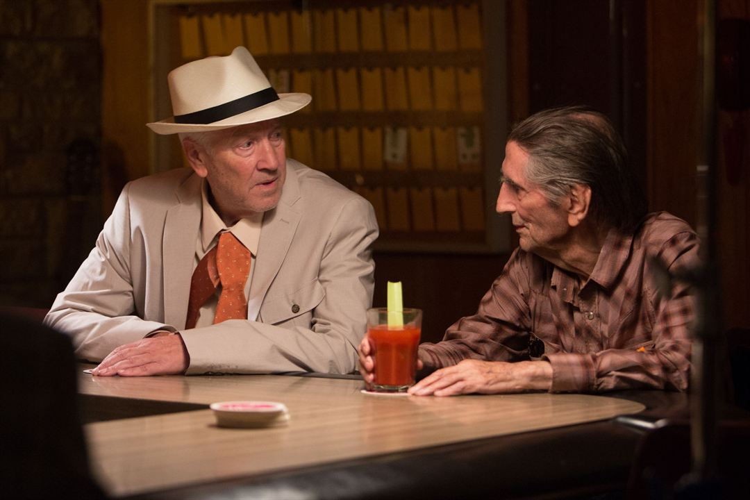 Lucky : Foto David Lynch, Harry Dean Stanton
