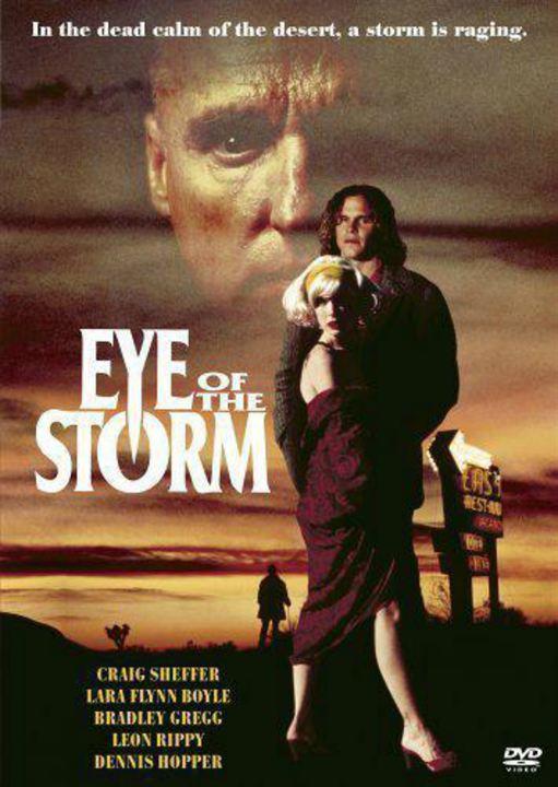 El ojo de la tormenta : Cartel