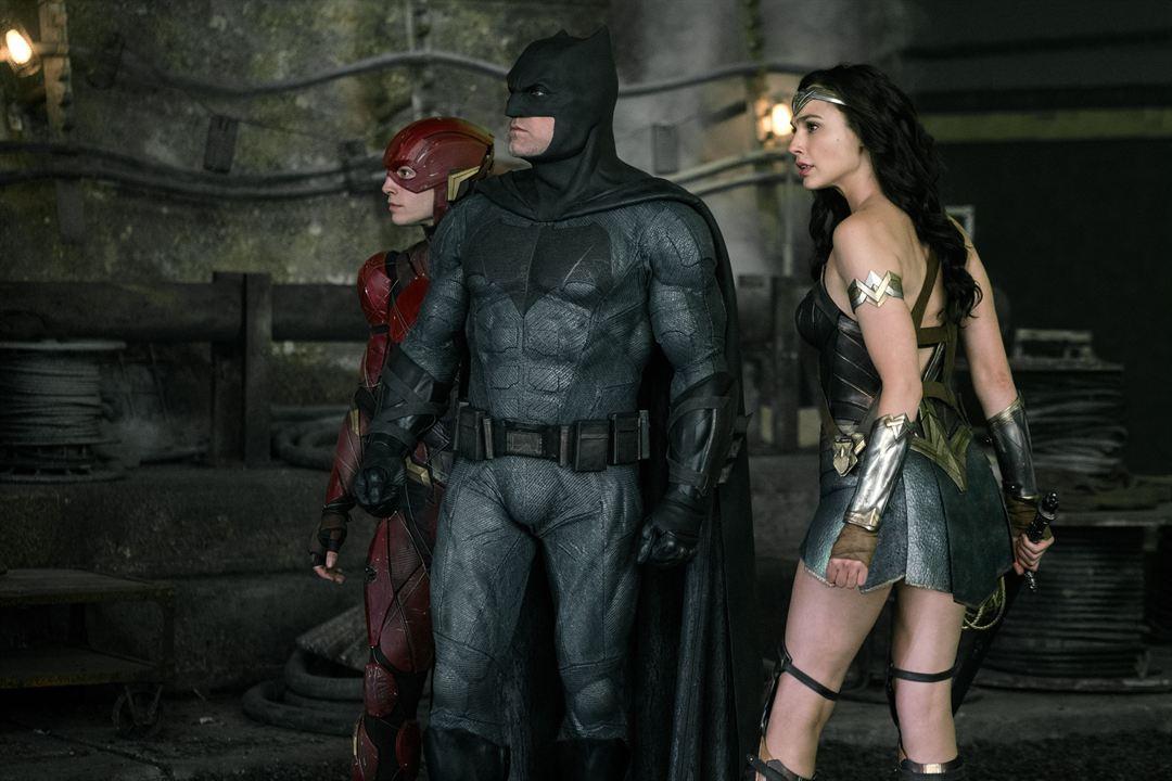 Liga de la Justicia : Foto Ben Affleck, Ezra Miller, Gal Gadot