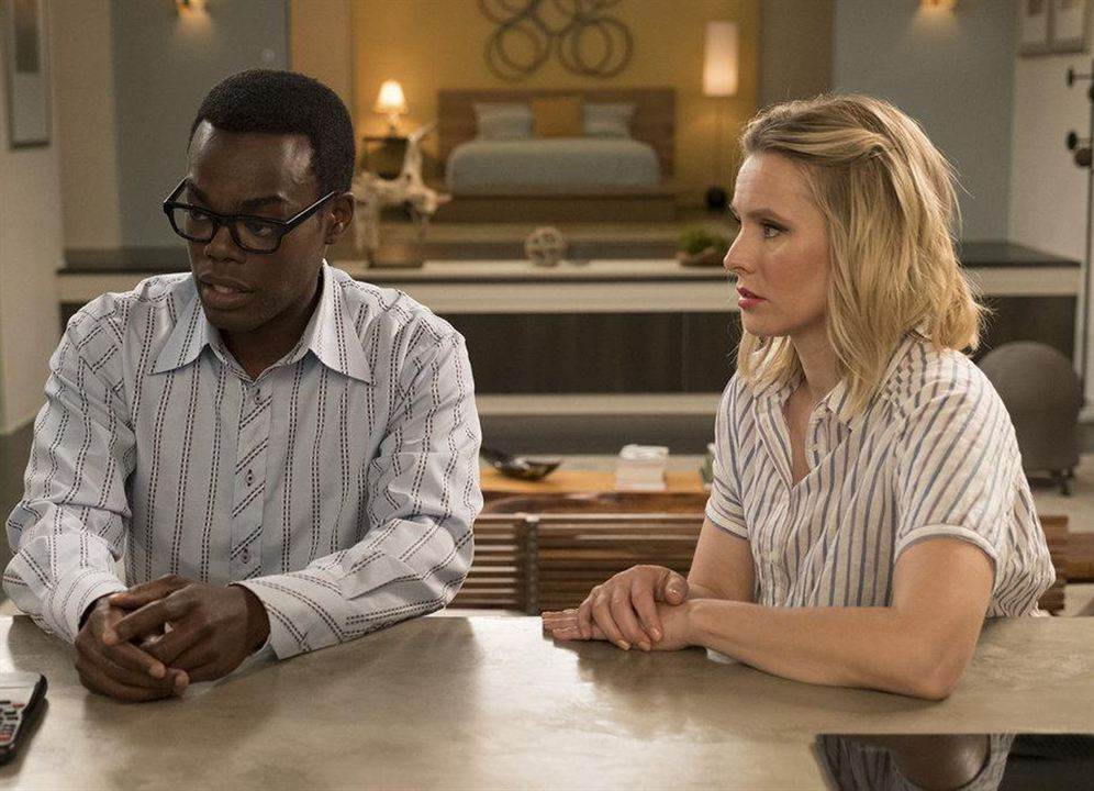 Foto Kristen Bell, William Jackson Harper