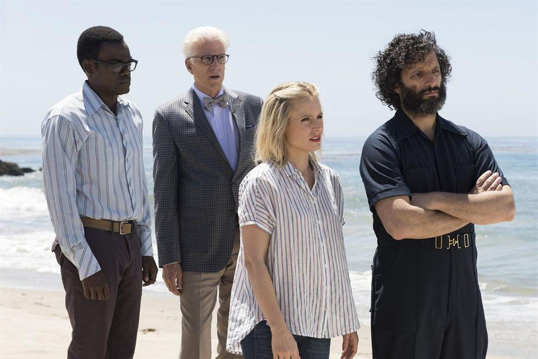 Foto Jason Mantzoukas, Kristen Bell, Ted Danson, William Jackson Harper