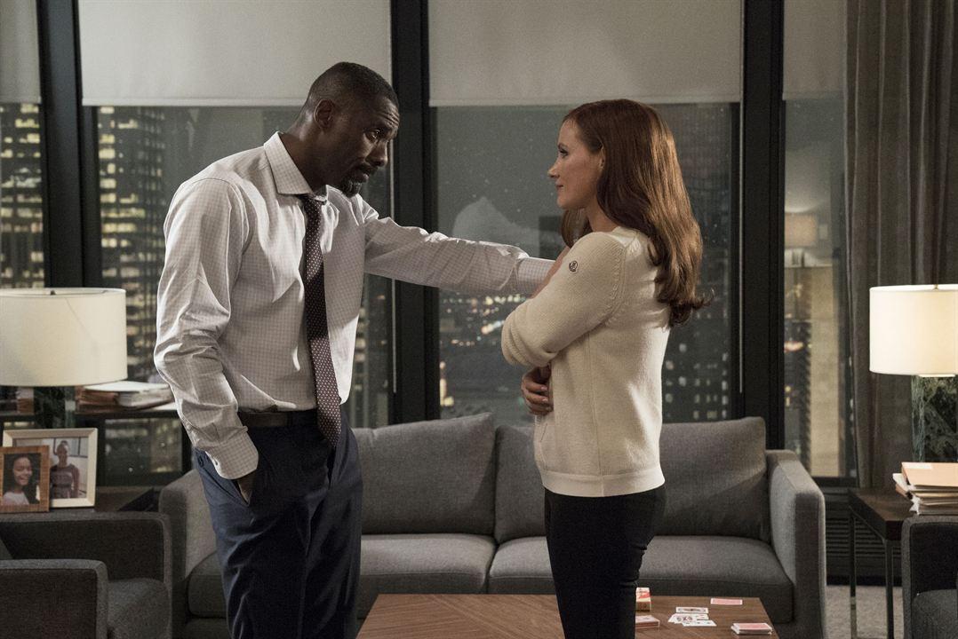Molly's Game : Foto Idris Elba, Jessica Chastain