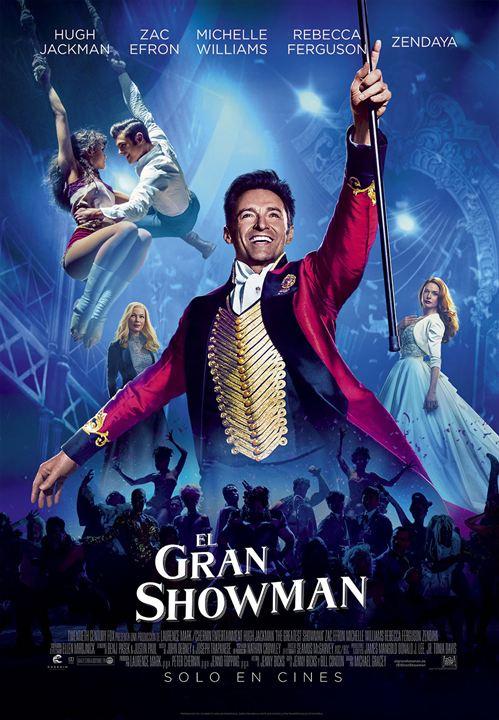 El gran showman : Cartel