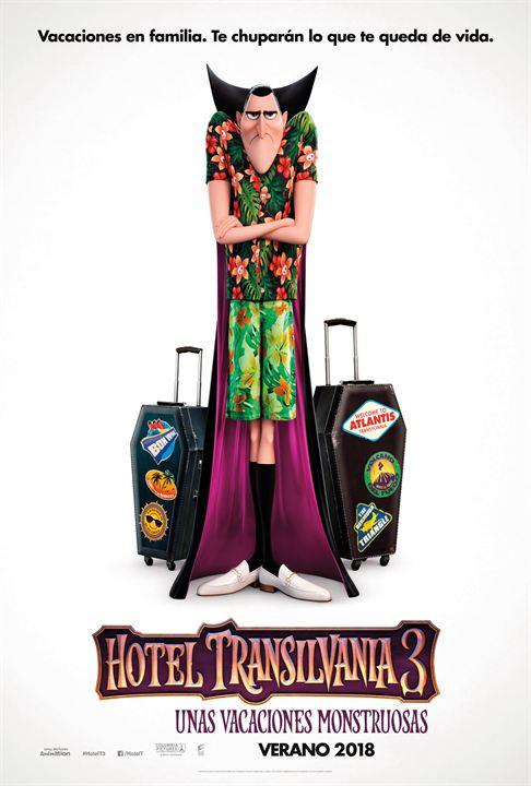 Hotel Transilvania 3: Unas vacaciones monstruosas : Cartel