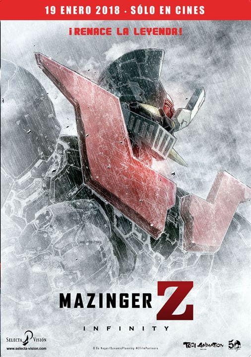 poster pelicula mazinger z